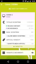 Si Store Mobile: Dettaglio Cassa